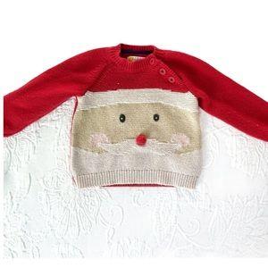 Baby Boden | Christmas Santa Sweater 🎅🏻